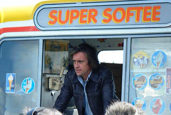 Richard Hammond Gay Ice Cream Van